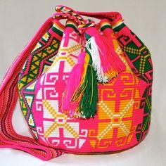 #nativostyle #mochila #colombiana
