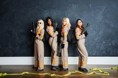 ho you gonna call for the perfect Halloween costume? Ideal for group Halloween costumes, family get-ups, or even solo outfits, the iconic uniform is an easy, recognizable costume that will delight fans young and old. Work Appropriate Halloween Costumes, Original Halloween Costumes, Most Popular Halloween Costumes, Cute Group Halloween Costumes, Halloween Outfits, Halloween Diy, Halloween Couples, Halloween 2020, Die Geisterjäger