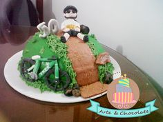 cake bici Birthday Cake, Desserts, Food, Pastries, Tailgate Desserts, Deserts, Birthday Cakes, Essen, Postres