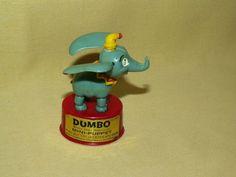 DUMBO MINI PUPPET KOHNER BROS VINTAGE HONG KONG NO 3990 WALT DISNEY ELEPHANT TOY #KohnerBrosBrothersWaltDisney