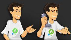 AsthmAlert, U.S. | Logo mascot - Character design & evolution