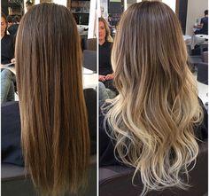 Projeto Along Hair – Recupere em 30 dias Brown Hair Balayage, Blonde Hair With Highlights, Brown Blonde Hair, Hair Color Balayage, Brunette Hair, Blonde Hair Looks, Light Hair, Gorgeous Hair, Dyed Hair
