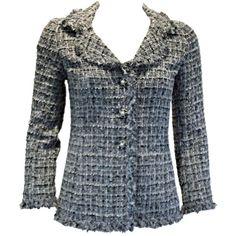 Chanel tweed Jacket ❤ liked on Polyvore