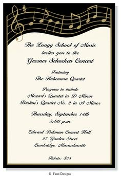 MUSICIAN Printable Party Invitation By GreenBeansieInk On Etsy