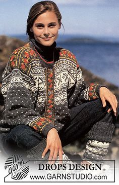 Women - Free knitting patterns and crochet patterns by DROPS Design Drops Design, Fair Isle Knitting Patterns, Knit Patterns, Double Knitting, Free Knitting, Norwegian Knitting, Magazine Drops, Drops Patterns, Free Pattern
