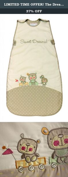 LIMITED TIME OFFER! The Dream Bag Baby Sleeping Bag Sweet Dreams 18-36 Months 2.5 TOG - Beige. Unlike blankets, The Dream Bag cannot be kicked off during the night so baby does not get cold and wake up. Baby knows its naptime or bed time when placed in The Dream Bag. The Dream Bag is safe as it cannot slip over baby's head. Baby can be cuddled to sleep in their Dream Bag and put in their cot without waking. Baby is happy in The Dream Bag and settles when on holiday or away from home when…