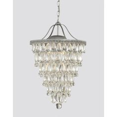 Light on pinterest crystal chandeliers chandeliers and crystals