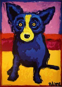 Blue Dog. We love him.