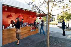 Shipping container no more! Proxy SF turns these simple spaces into pop-up shops and restaurants!