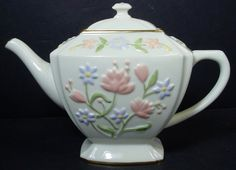 Lenox China Wildflower Teapot Great Giftables Collection | eBay