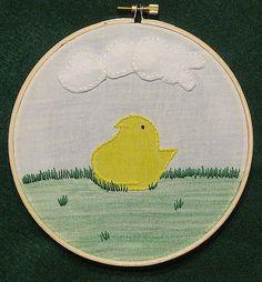 Peep #peep #embroidery