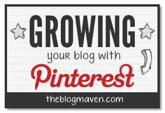 Growing Your Blog With Pinterest   theblogmaven.com