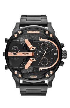 DIESEL® 'Mr. Daddy 2.0' Chronograph Bracelet Watch, 57mm available at #Nordstrom