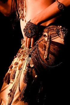 Originally pinned by Jenny Blackbird onto bellydance inspiration: tribal fusion.
