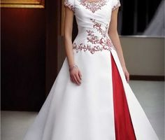 Plus Size Red Wedding Dresses | Wallpaper: red and white wedding dresses plus size wedding dresses May ...