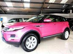 Range Rover Evoqué  pink inlove