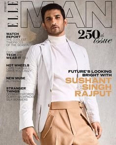 Sushant Singh Rajput features on Elle India cover for the first time