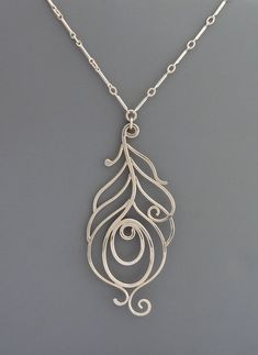 Items similar to Sterling silver handmade peacock necklace, Rachel Wilder Handmade Jewelry on Etsy Wire Wrapped Jewelry, Metal Jewelry, Pendant Jewelry, Jewelry Art, Sterling Silver Jewelry, Jewelry Necklaces, Jewelry Design, Silver Rings, Jewelry Armoire