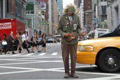 The Street Performer Brandon Stanton, Humans Of New York, Street Performance, Street Portrait, Canada Goose Jackets, Brooklyn, Cool Photos, Winter Jackets, Nyc