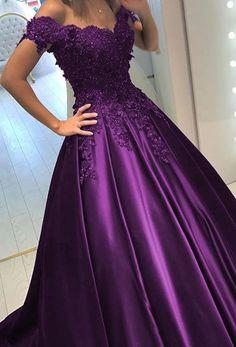 Prom Party Dresses, Quinceanera Dresses, Ball Dresses, Ball Gowns Evening, Formal Evening Dresses, Royal Blue Long Dress, Essence Of Australia Wedding Dress, Quince Dresses, Lace Applique