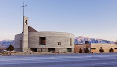 St. Joseph the Worker Church. Design by Sparano + Mooney Architecture; firm located in Los Angeles, CA and Salt Lake City, UT. Modern architecture and design.