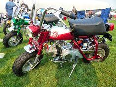 OldMotoDude: 1969 Honda Z-50 Mini Trail on display at 'The Meet...