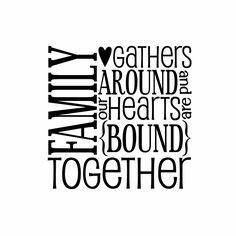 family quotes | Family Vinyl Wall Decal Wall Quote Subway Wall Decals Block Art Saying ...