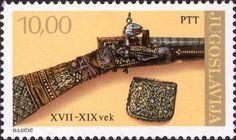 Sello: Antique weapons (Yugoslavia) (History) Mi:YU 1783