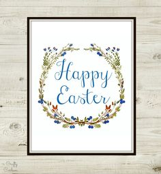 Emily here with another festive Easter printable! I shared a more springy one last week that could technically be used anytime of the year… aren't those the best kind of … Easter Printables, Easter Holidays, Printable Tags, Happy Easter, Card Ideas, Card Making, Diy Crafts, Crafty, Spring