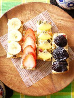 テーブルがパッと華やぐ♪「フルーツオープンサンド」がインスタで大人気! - NAVER まとめ