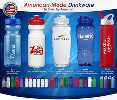 Made in the #USA #drinkware from Image Packaging​. #Refresh your #marketing campaign!