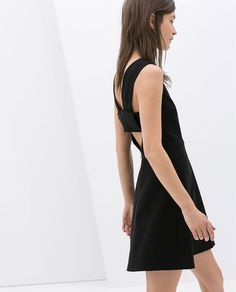 Image 3 of DRESS WITH CUT-OUT BACK from Zara