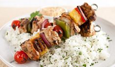 Lemon Yogurt Chicken Kebabs - In the Kitchen with Stefano Faita