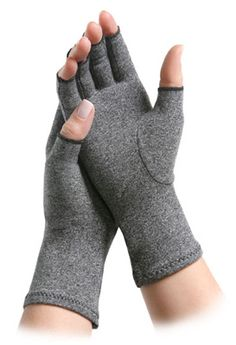IMAK® Arthritis Gloves were designed by an orthopedic surgeon and are designed to help relieve aches, pains, and stiffness associated with arthritis of the hands. They have also earned a Arthritis Foundation's Ease of Use Commendation.