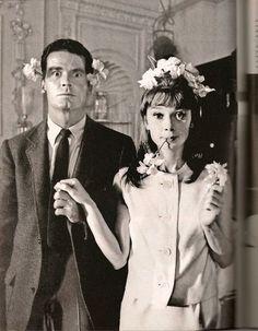 Audrey Hepburn & James Garner