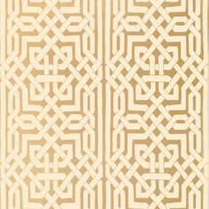 Malaga Gold Wallpaper (€200) ❤ liked on Polyvore featuring home, home decor, wallpaper, gold home decor, gold home accessories, metallic wallpaper, double roll wallpaper and gold wallpaper