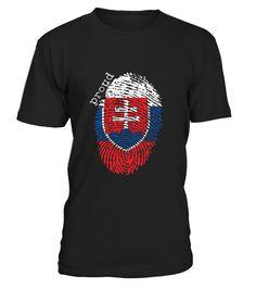 Slovakia Flag T shirt   Slovakia National Flag copy