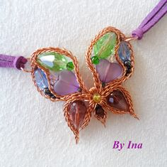 """My """"Spiky"""" Butterfly - Copper Version 