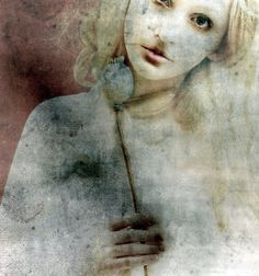 ☽ Dream Within a Dream ☾ Misty Blurred Art & Fashion Photography - Rapunzel by Kristamas