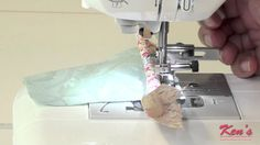 How to use the Brother SA161 Zipper and Cording Foot