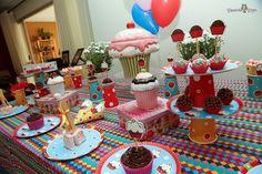 Cupcakes - Festa de Papel - Denise Brandt - 504