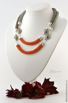 Image result for kumihimo bead lariat