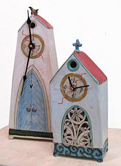 ceramic clocks - Senekal Rika