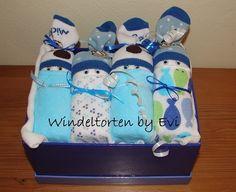 diaper babies in a photo box
