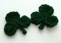 Shamrock crochet pattern!