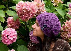 Ravelry: Dancing Trees Beanie pattern by Elitza Chernaeva Crochet Beanie Hat, Beanie Pattern, Beanie Hats, Knitted Hats, Front Post Double Crochet, Sport Weight Yarn, Fingerless Mittens, Crochet Gifts, Single Crochet