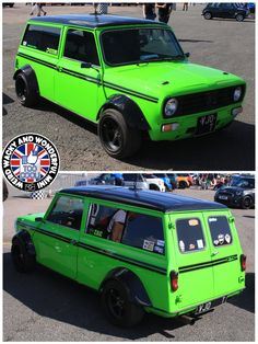 Up next is the wicked Wide Arched Wednesday Clubby Estate belonging to our friend Steve, its had many guises in recent yrs but there's no doubt it really stands out from a crowd in its current finish! All in its 1 eye catching lil W.A.W beasty!