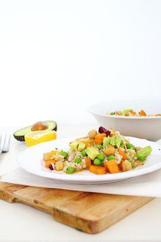 Spicy Rice Salad