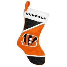 NFL 2014 Colorblock Stocking Cincinnati Bengals