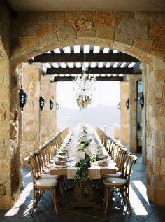 Elegant Malibu tablescape with a touch of rustic: http://www.stylemepretty.com/vault/gallery/38307 | Photography: Erich McVey - http://www.erichmcvey.com/
